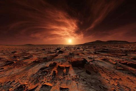 Ученые обнаружили на Марсе окаменелости со следами жизни