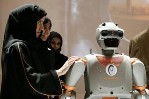 В Саудовской Аравии создали робота, который разговаривает на арабском