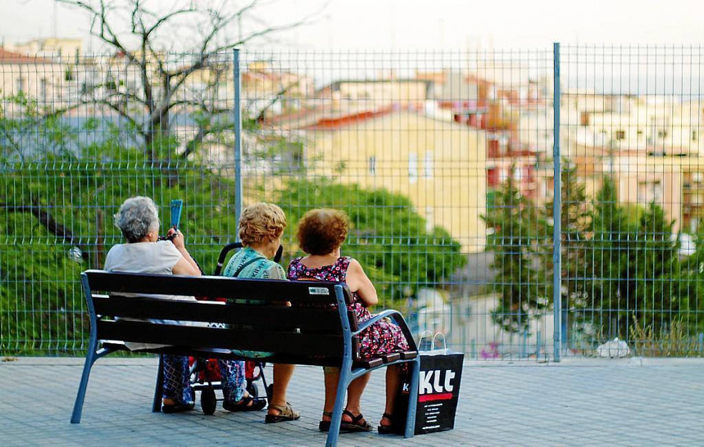 Средняя пенсия испанских женщин на 36% меньше, чем у мужчин