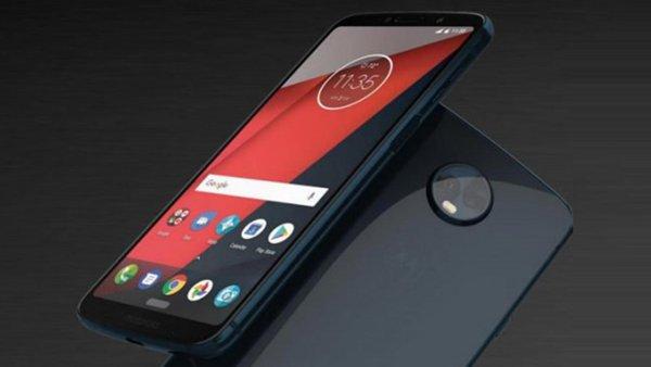 В Сети появились снимки Moto Z3 Play с 5G Moto Mod