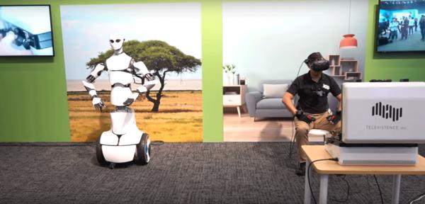 В Японии показали робота-аватара Model H
