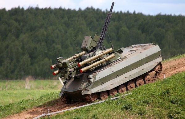 Эксплуатация боевого робота «Уран-9» в Сирии выявила его недостатки