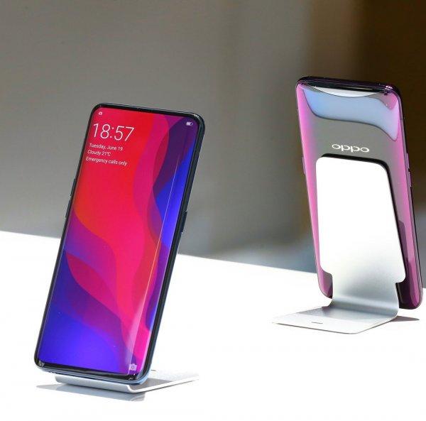 Oppo выводит на рынок полностью безрамочный смартфон Find X