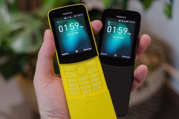 В России стартовала продажа бананофона Nokia 8810 4G Reloaded