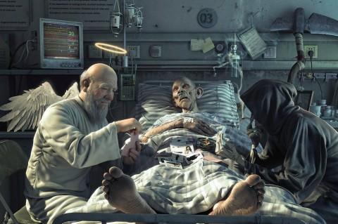 Это конец: ученые доказали, что жизни после смерти нет