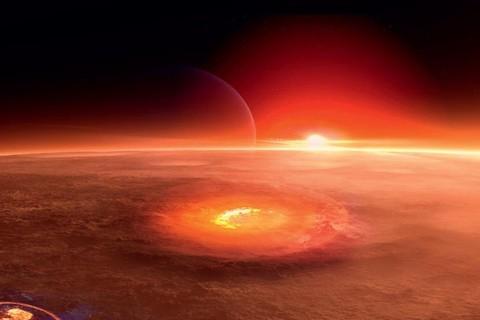 В NASA сфотографировали последствия мощного взрыва на Марсе