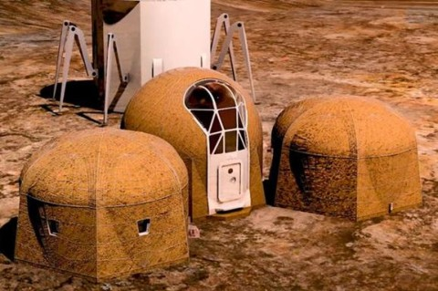 NASA показало жилье первых колонистов Марса