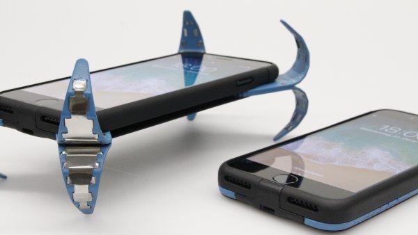 Немецкий инженер изобрел чехол-«подушку безопасности» для смартфонов