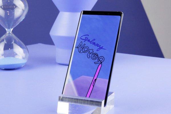 Caviar сделает Samsung Galaxy Note 9 золотым