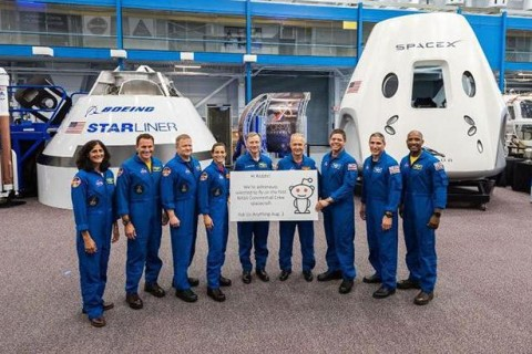 NASA объявило имена астронавтов для миссий SpaceX и Boeing