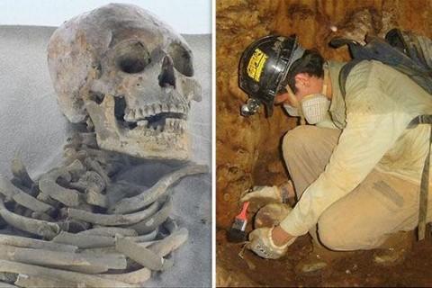 Археологи обнаружили в Мексике загадочное древнее захоронение