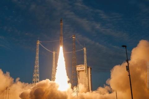 Во Франции успешно запустили ракету с украинским двигателем