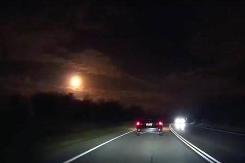 Над Австралией пролетел необычный метеорит