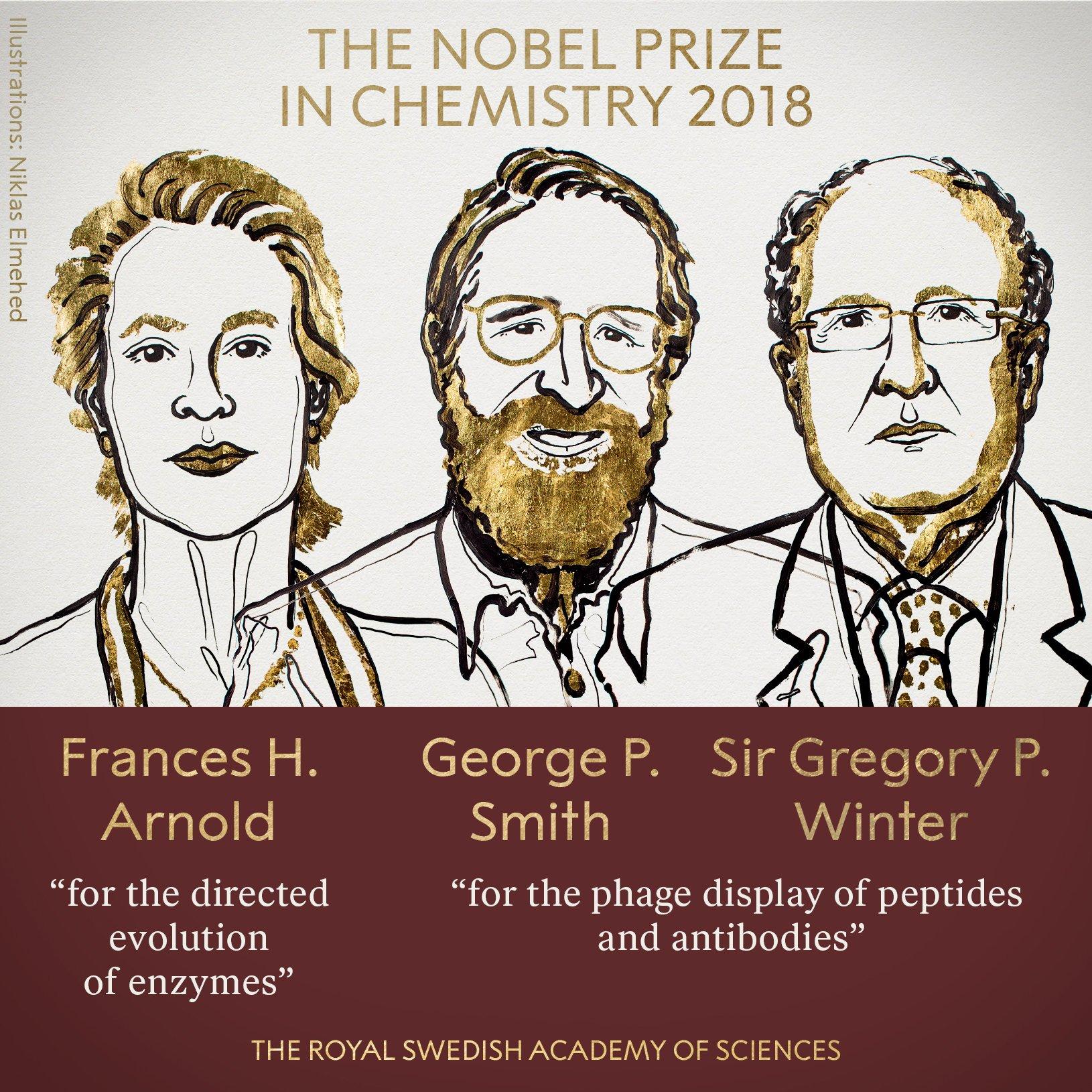 Они взяли под контроль эволюцию: названы лауреаты Нобелевской премии по химии