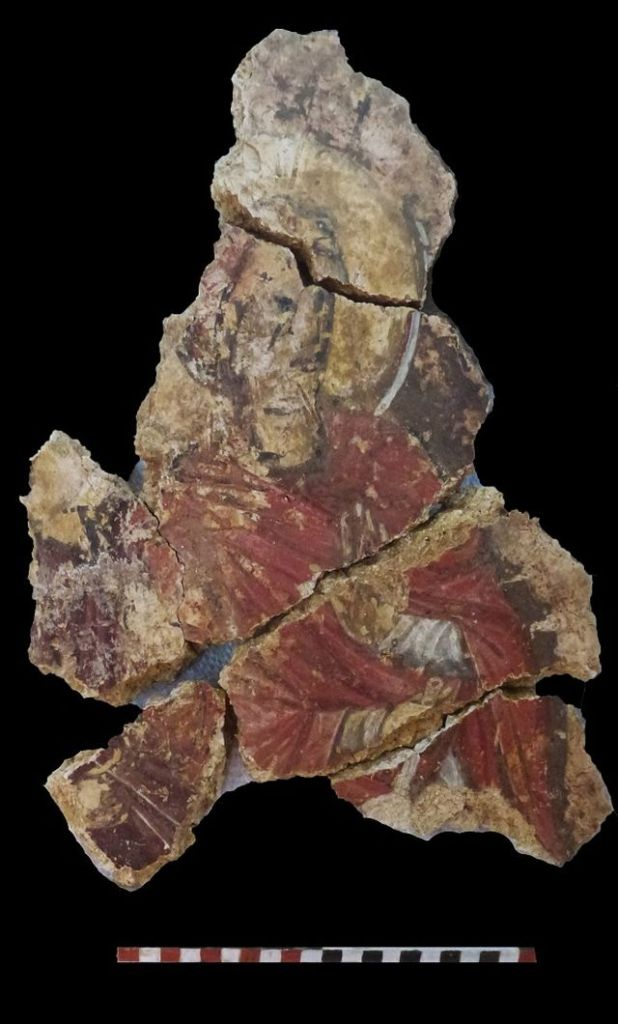 Археологи обнаружили таинственную фреску