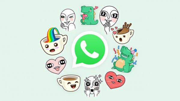 В WhatsApp появились собственные стикеры