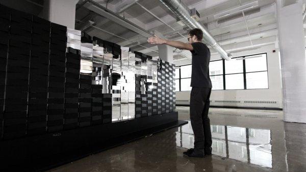 Американские дизайнеры создали роботизированную стену «для вдохновения»