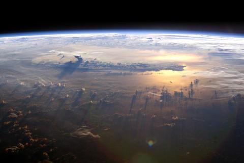 В NASA показали, как выглядит наша планета со стороны Солнца