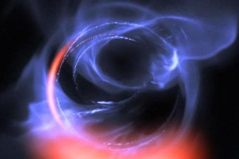 Ученые обнаружили черную дыру в центре Млечного Пути