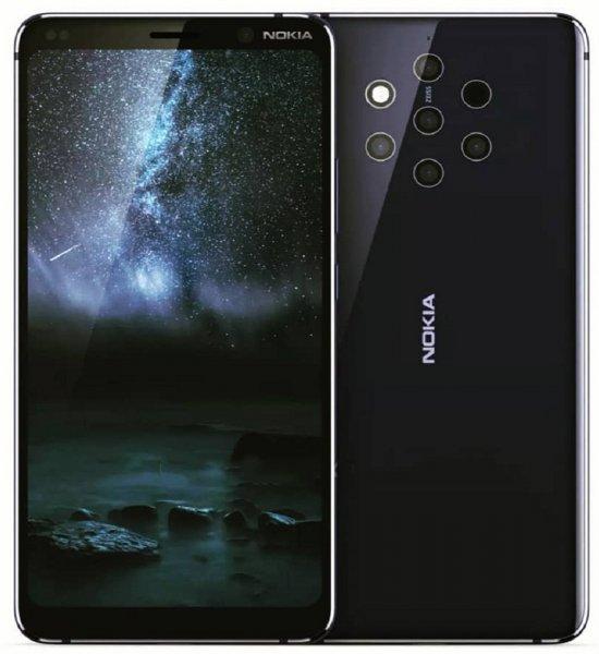 Изображение и видео флагмана Nokia 9 с пятью камерами выложили в Сеть