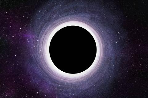 Ученые показали удивительную симуляцию черной дыры