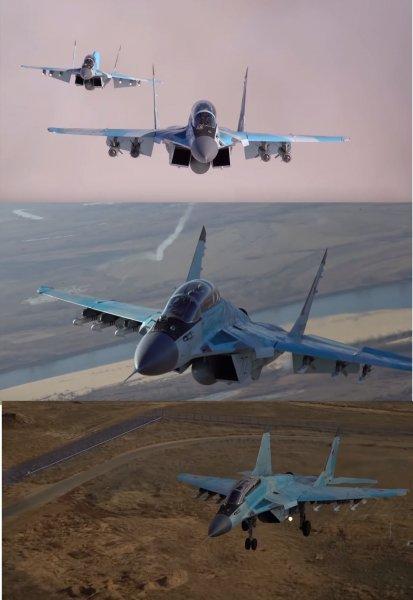 Видео вертикального взлёта МиГ-35 на форсаже появилось в Сети