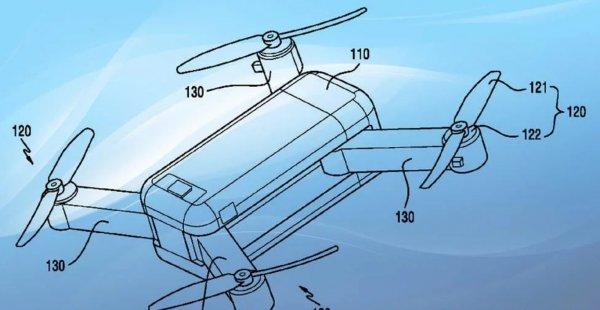 Samsung запатентовал первый в мире беспилотник-трансформер