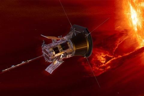 Зонд NASA погрузился в атмосферу Солнца