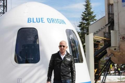 Ракету New Shepard успешно запустили в космос