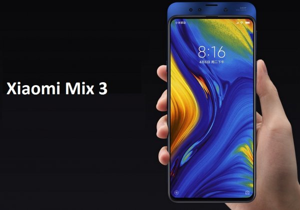 Новая эра: Безрамочный слайдер Xiaomi Mix 3 возвращает давно забытую технологию