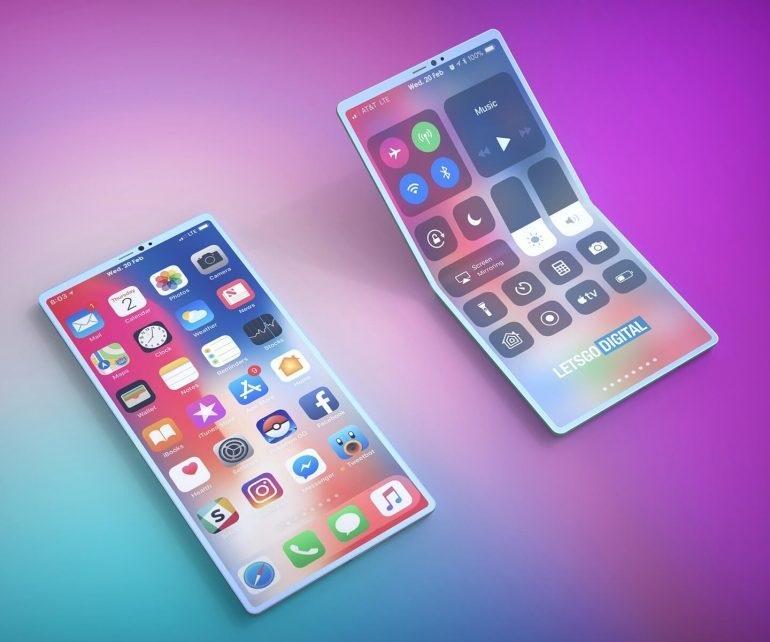 В сети появилось фото нового складывающегося iPhone