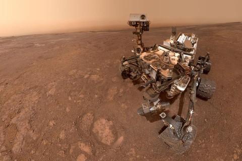 NASA опубликовало 360-градусную панораму поверхности Марса