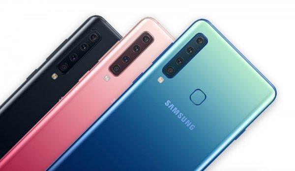 Впереди планеты всей: Samsung анонсировали первый в мире смартфон с четырьмя камерами