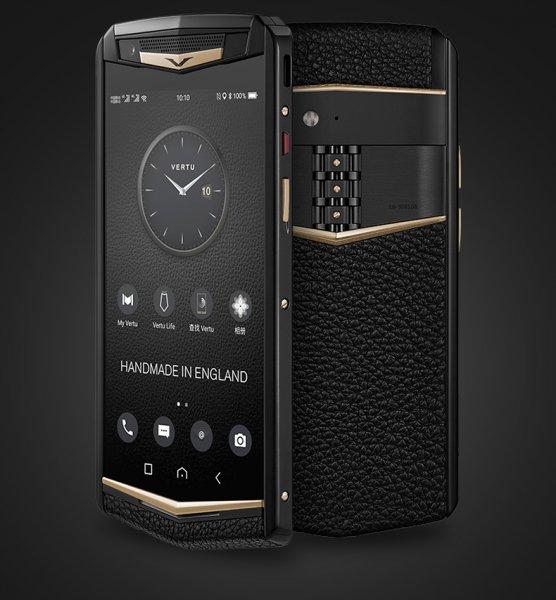 Появился новый премиальный смартфон Vertu Aster P