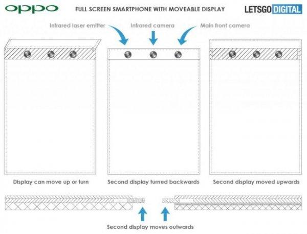 Новый революционный смартфон Oppo будет иметь всплывающий экран