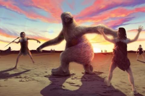 Ученые рассказали о способе питания древних гигантских ленивцев, который помог им выжить