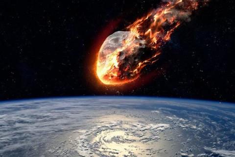В атмосфере Земли произошел сверхмощный взрыв метеорита