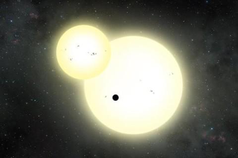 Ученые впервые заметили рождение двойной звезды