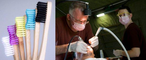Прощание с зубными щётками: Микророботы научились удалять зубной налёт