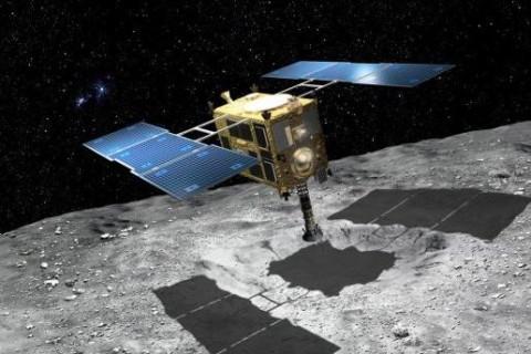 Японский зонд устроил взрыв на астероиде Рюгу