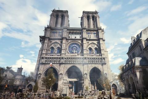 Компьютерная игра поможет восстановить собор Парижской Богоматери