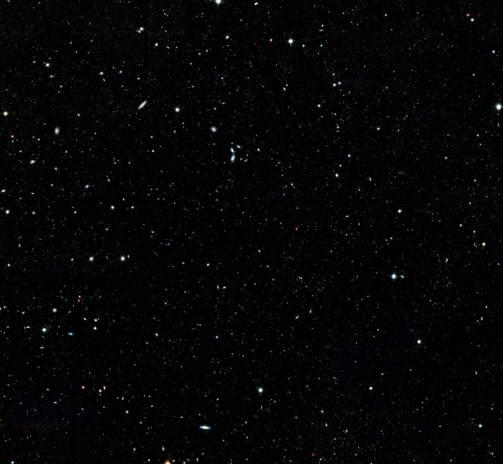 NASA опубликовало детальное фото нашей Вселенной