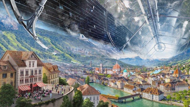Основатель Amazon представил план по колонизации орбиты Земли