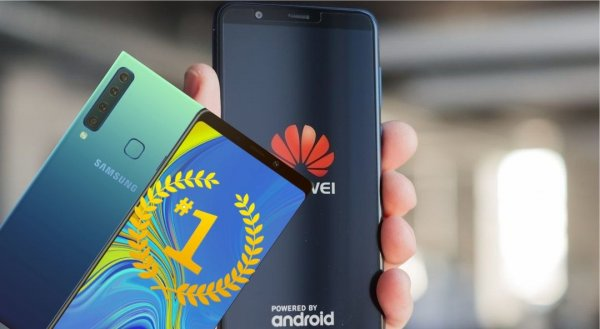 Samsung сместит Huawei с лидерской позиции на российском рынке
