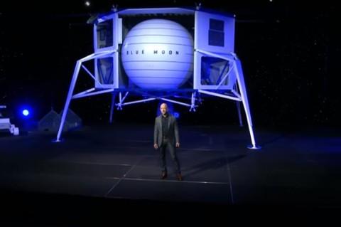 В США показали уникальный аппарат для освоения Луны