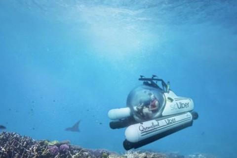 Uber запустит подводное такси
