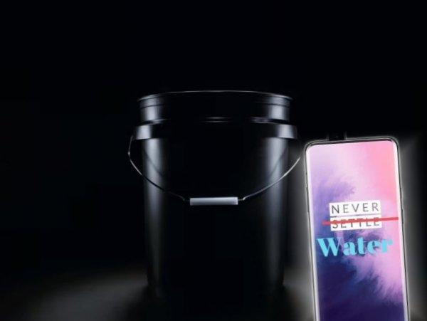 OnePlus в воде - быть беде: Хвалённый OnePlus 7 Pro не продержался в воде и минуты