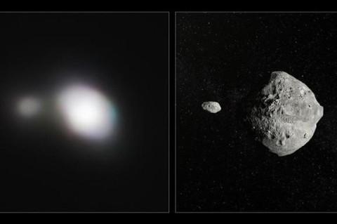 Ученые опубликовали снимок двойного астероида, пролетевшего над Землей