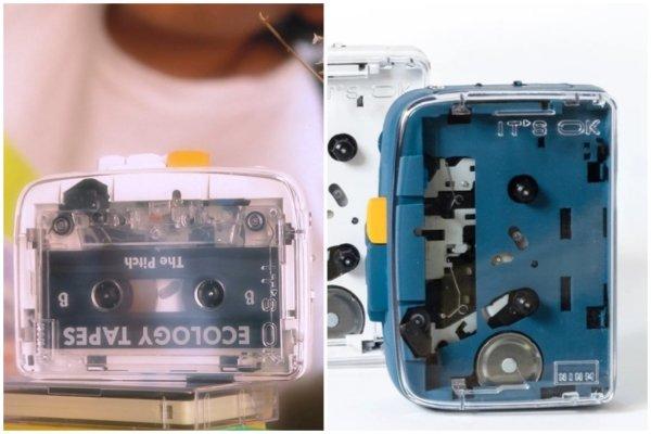 Одно другому не мешает: представлен кассетный плеер с Bluetooth