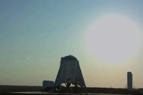 Маск показал первый взлет нового прототипа корабля SpaceX